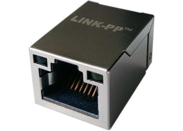 LPJ19201BGNL η επιφάνεια τοποθετεί 1x Rj45 το ετικέττα-επάνω W LEDs, 10/100Base-τ Ethernet