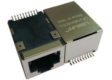 Σημείο εισόδου Rj45 Jack LPJ19205DNL SMT, 1x IEEE 802.3af 10/100Mbps δύναμη πάνω σε Ethernet
