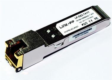 Rj45 χαλκός SFP 10/100/1000 βάση-τ SGMII -40°C βιομηχανικά Temp 1,25 Gigabit Ethernet +85°C